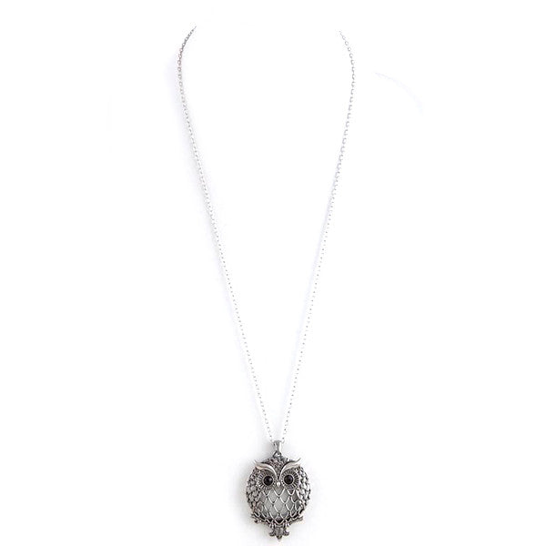 Wise Owl Magnify Necklace - Jewelry Buzz Box  - 2
