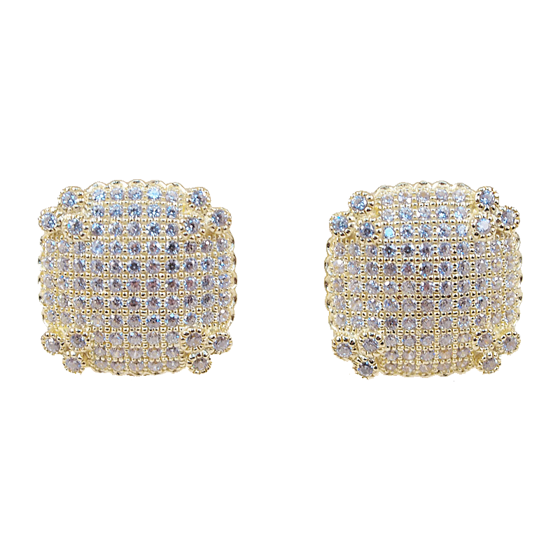 Sexy Square Studs - Jewelry Buzz Box  - 1