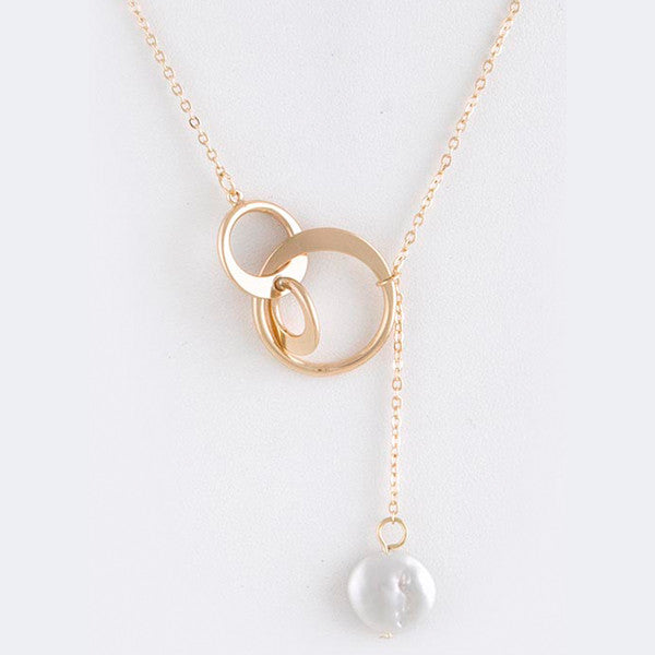 Pearl Lariat Necklace - Jewelry Buzz Box  - 3