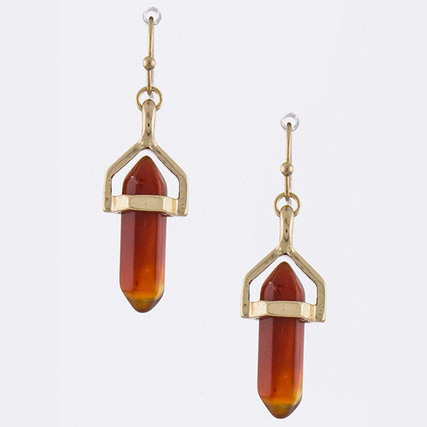 Gem Drop Earrings - Jewelry Buzz Box  - 6