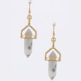 Gem Drop Earrings - Jewelry Buzz Box  - 7