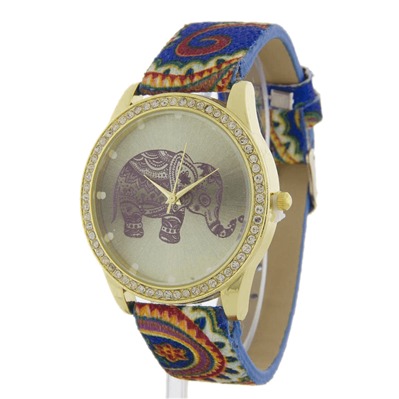 Ancient Elephant Watch - Jewelry Buzz Box  - 1