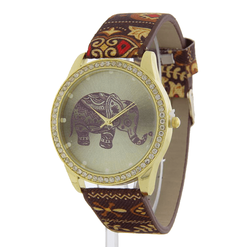 Ancient Elephant Watch - Jewelry Buzz Box  - 3