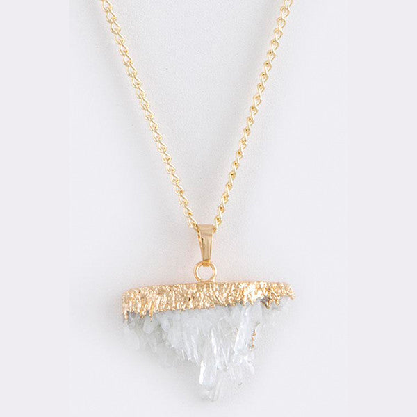 Quartz Necklace - Jewelry Buzz Box  - 2