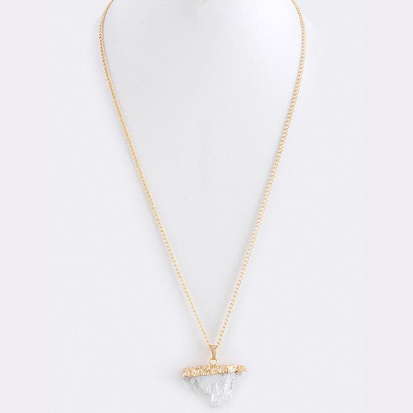 Quartz Necklace - Jewelry Buzz Box  - 3