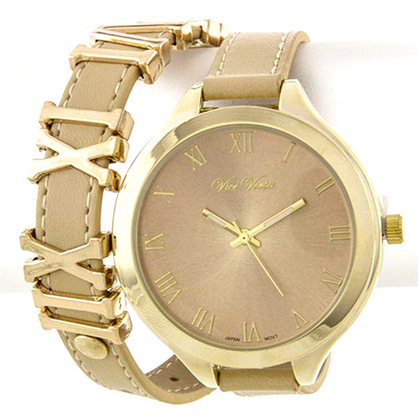 Roman Wrap Watch - Jewelry Buzz Box  - 1