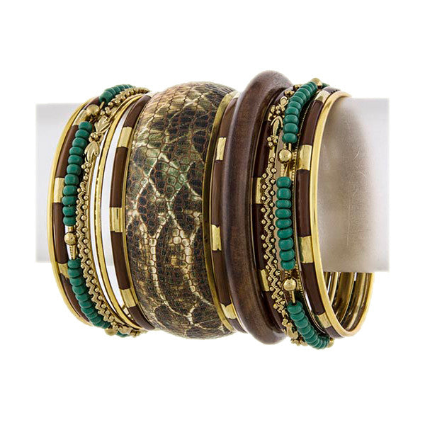 Safari Bangles - Jewelry Buzz Box  - 3