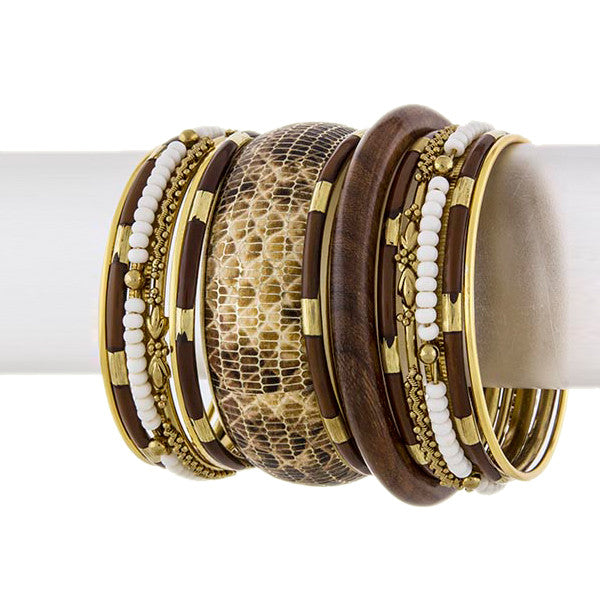 Safari Bangles - Jewelry Buzz Box  - 1