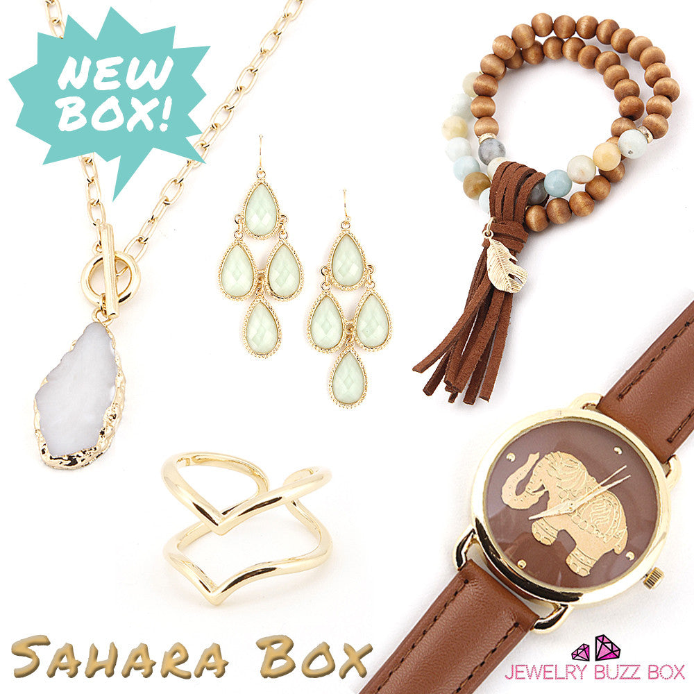 Sahara Box - Jewelry Buzz Box  - 1