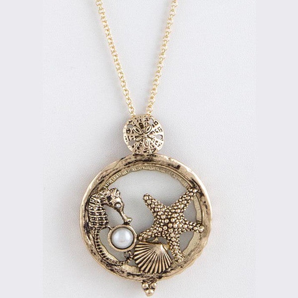Under The Sea Magnify Necklace - Jewelry Buzz Box  - 2