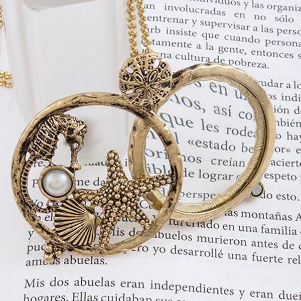 Under The Sea Magnify Necklace - Jewelry Buzz Box  - 1