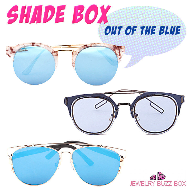 Out Of The Blue Shade Box - Jewelry Buzz Box  - 1