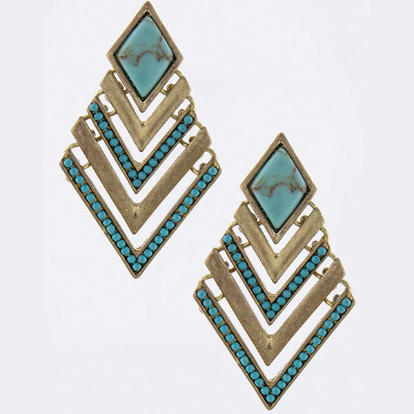 Cherokee Earrings - Jewelry Buzz Box  - 5