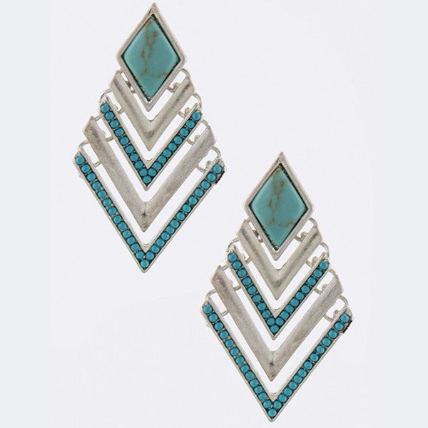 Cherokee Earrings - Jewelry Buzz Box  - 2