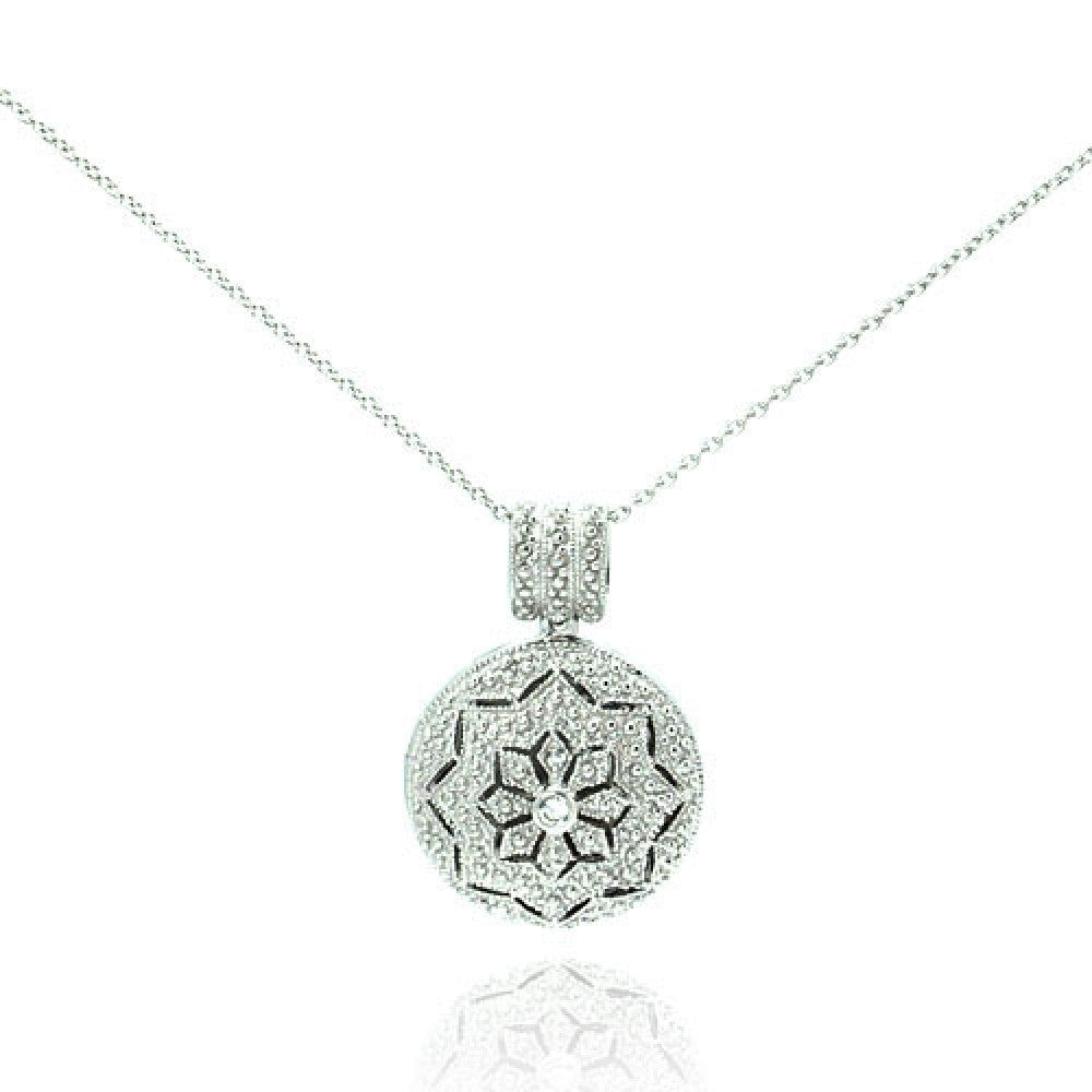 Starburst Locket Necklace - Jewelry Buzz Box