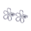 Skeleton Flower Stud Earring - Jewelry Buzz Box
