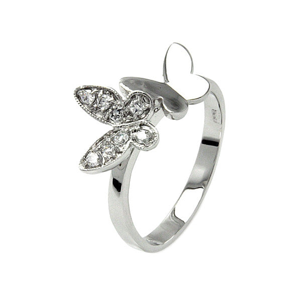 Double Butterfly Ring - Jewelry Buzz Box
