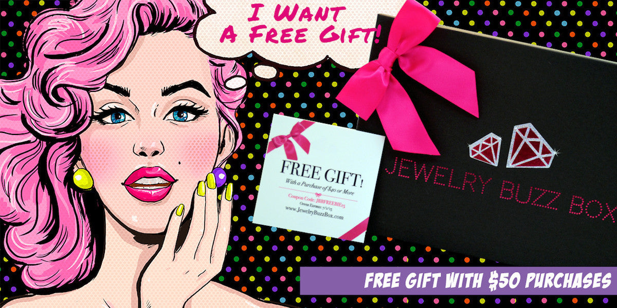 Get a free gift when you purchase $50 or more! You'll love our classy gift valued at $30 and it's yours for FREE!