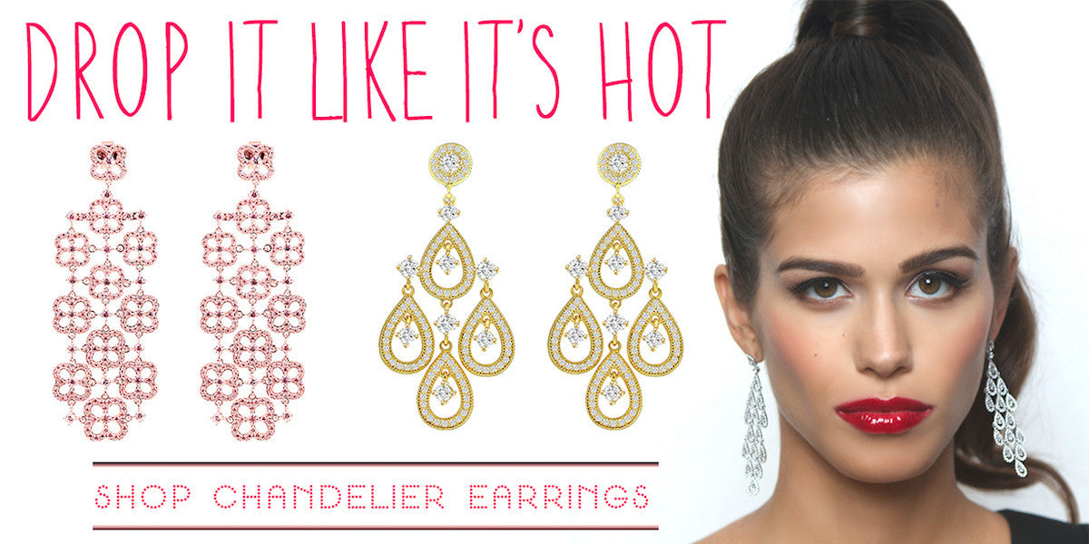 Beautiful drop earrings! Shop chandelier earrings, sparkle, and standout! Buy sterling silver and fashion drop earrings.