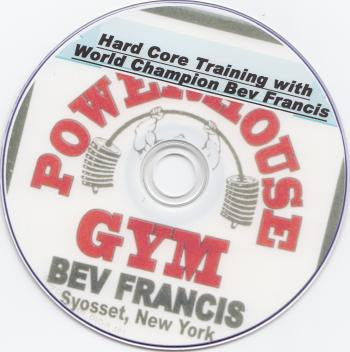 Bev Francis Hardcore Training DVD