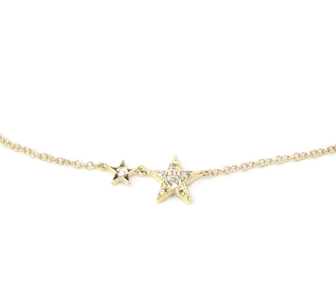 14KT Under the Stars Diamond Necklace