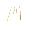 14K Out of The Box Chain Threader Earrings