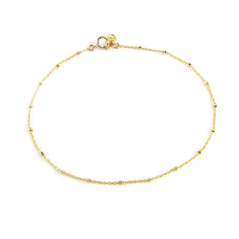 Spot of Sparkle Anklet
