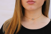 Mystic Blue Quartz Choker Necklace