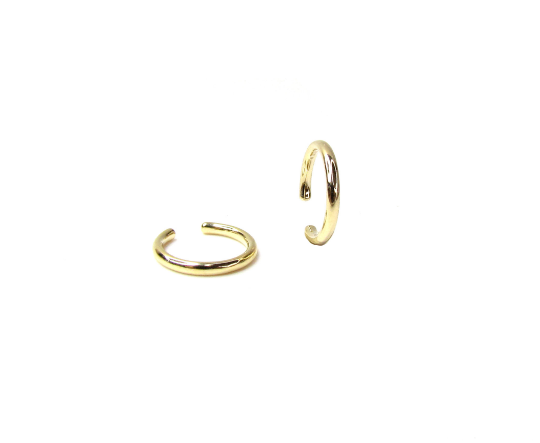 14K Polished Gold Ear Cuff