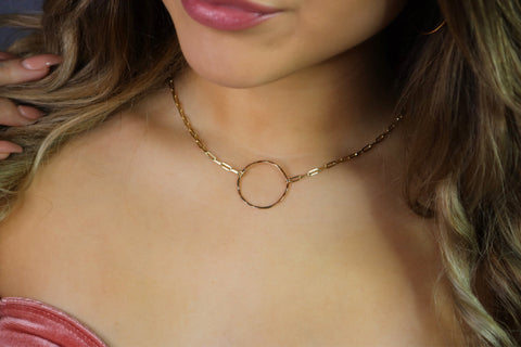 Eternity Circle Necklace