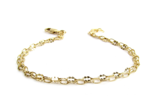 Double Strand Lace Chain Bracelet