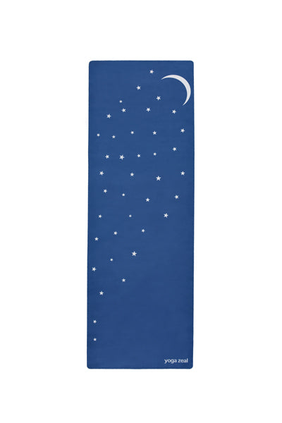 Moon and Stars Mat (in Blue)