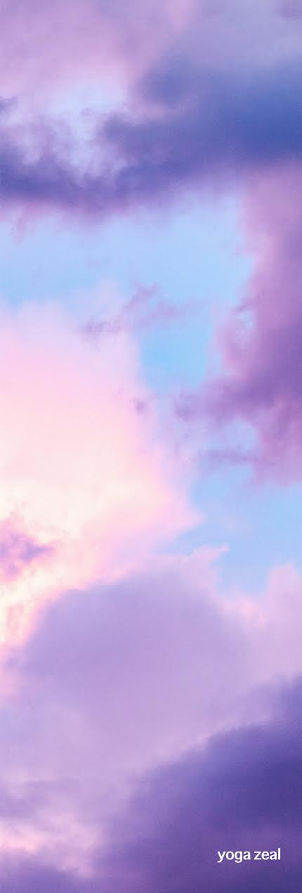 New! Clouds Mat (Pink and Purple) *Pre-Orders Only*