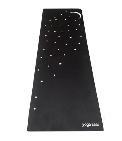 Moon and Stars Mat (in Black)