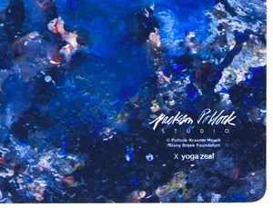 Jackson Pollock Studio Floor Mat (Version 2) x Yoga Zeal