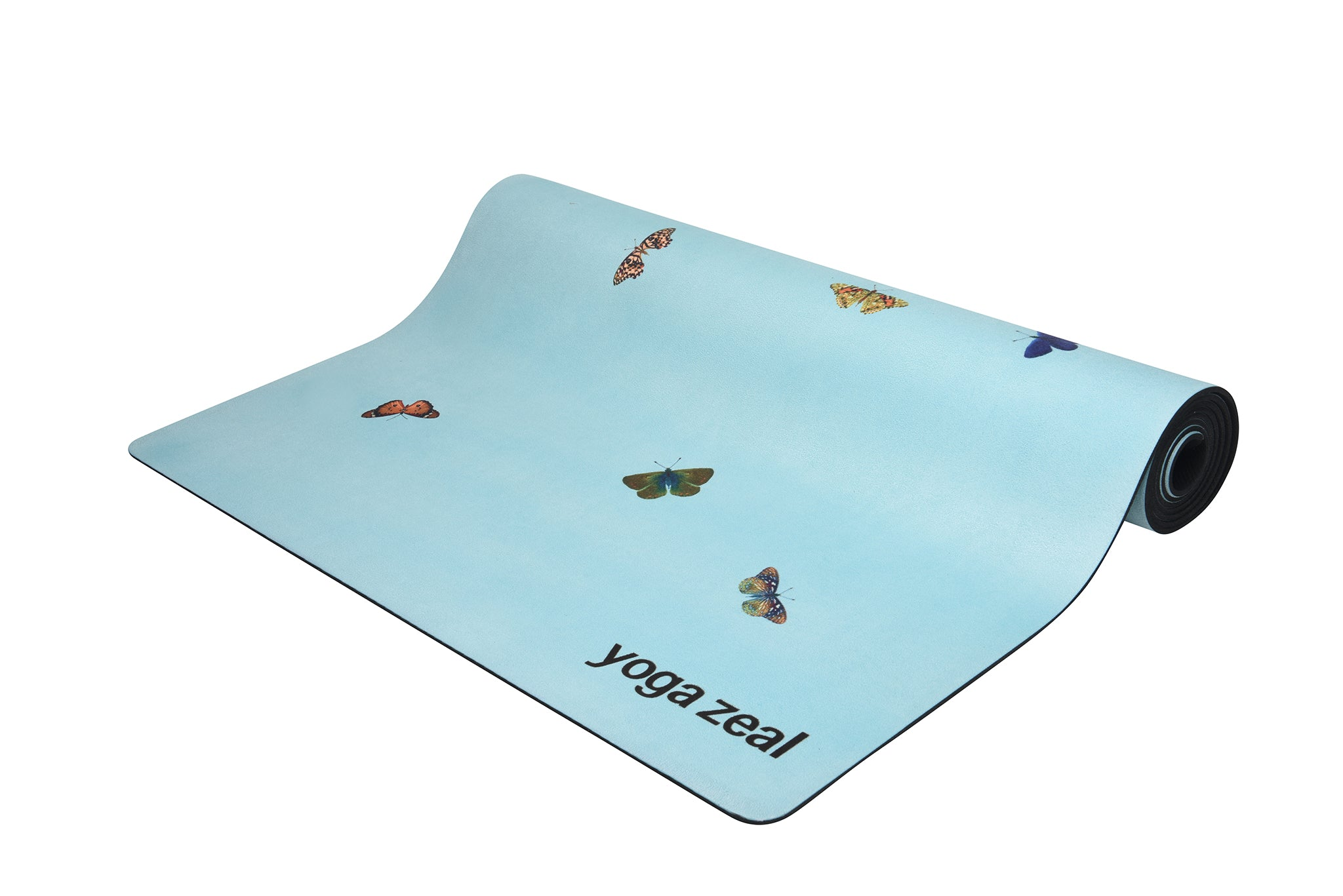 Buttefly Mat (Light Blue)