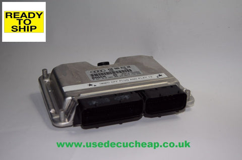 AUDI A6 ECU 1.9 TDI  038906012AB IMMO OFF PLUG & PLAY.