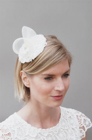 Sea Bubbles Bridal Fascinator