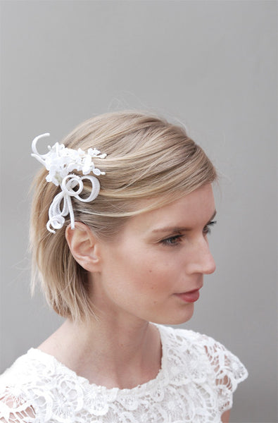 Lily of the Valley Bridal Hairclip