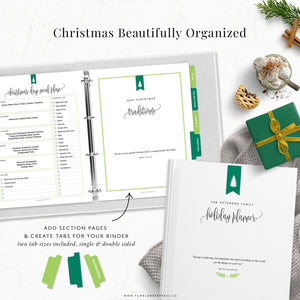 Christmas Planner Printable Binder Kit