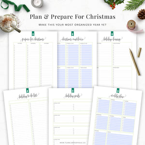 Christmas Checklist Planner Printables