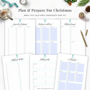 Christmas Planner Binder Kit: Hepburn
