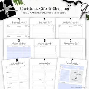 Christmas Planner Binder Kit: Kelly