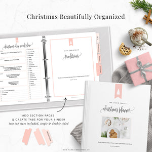 Christmas Planner Binder Kit: Taylor