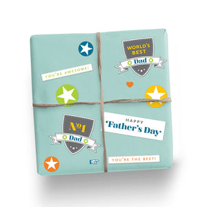 Father's Day Stickers: Shield