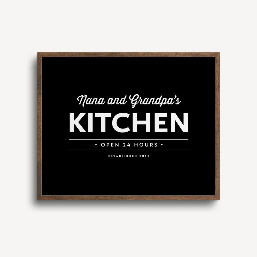 Kitchen Custom Print