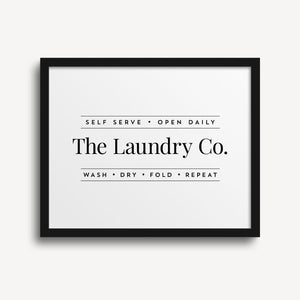 The Laundry Co Print