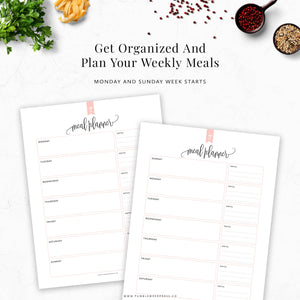 Meal Planner & Grocery List: Taylor