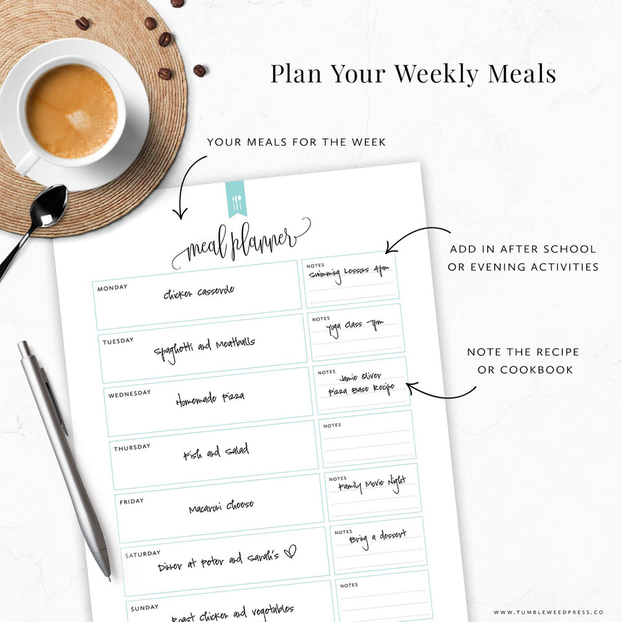 Meal Planner & Grocery List: Hepburn