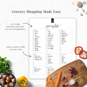 Meal Planner & Grocery List: Kelly